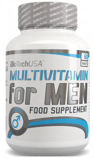 BioTech Multivitamin FOR MEN (60 tab)